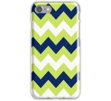 >>chic.chevron<< - lime&navy&white iPhone Case/Skin