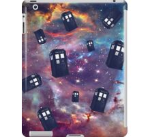 TARDIS Flying iPad Case/Skin