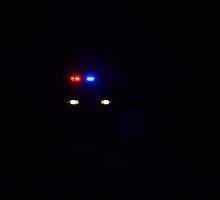 Police car at night by JMG1883