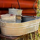 old wash tubs by rjorg
