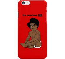 The Notorious I.T. (on Red) iPhone Case/Skin
