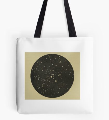 Lucky Stars Vintage Perseus Constellation Tote Bag
