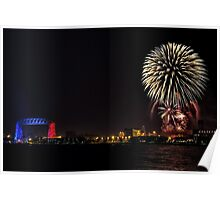 Duluth Fireworks Poster