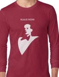 klaus nomi Long Sleeve T-Shirt