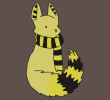 Housefox of Hufflepuff by teecup
