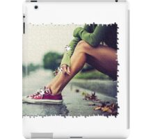 Puzzled Legs iPad Case/Skin