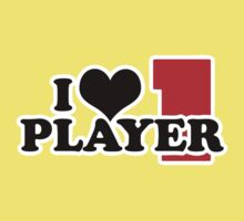I Heart Player 1 (b) Kids Clothes