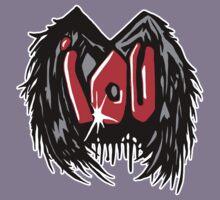 IOU Graffiti Wings T-Shirt