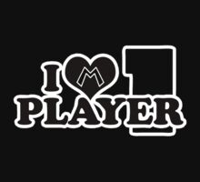 I Heart Player 1 (d) Kids Clothes
