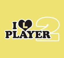 I Heart Player 2 (d) Kids Clothes