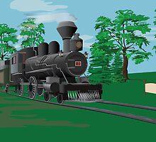 Steam Train by TrioDesigns