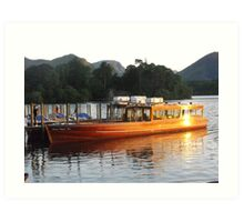 On Derwentwater Art Print