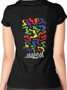 (Hoodie) Colourful Arrows Women's Fitted Scoop T-Shirt