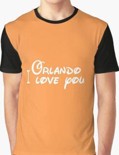 Orlando I Love you Graphic T-Shirt