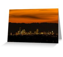 Good Night, Seattle! Greeting Card