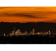 Good Night, Seattle! Photographic Print