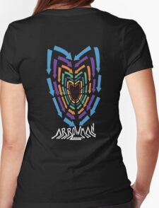 (Hoodie) Heart of Arrows  Womens Fitted T-Shirt