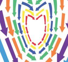 (Hoodie) Heart of Arrows  Sticker