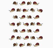 Cute Snail Cartoon Pattern T-Shirt