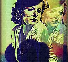 JEAN HARLOW AND GHOST. by Terry Collett