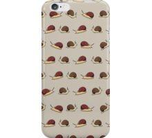 Cute Snail Cartoon Pattern iPhone Case/Skin