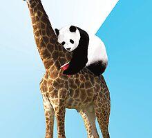 Drunk Panda by austinhein
