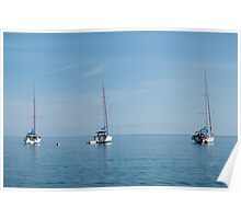 Yachts, Filicudi Poster