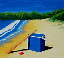 This is Australia, Beach Cricket by Jennifer Mosher