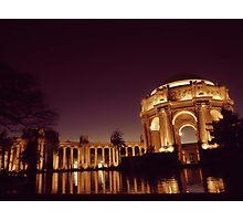 Palace of Fine Arts @ San Francisco Photographic Print