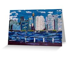 Sydney City from Darling Harbour Greeting Card