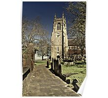 The Church of Saint Mary.  Chatham Kent  Poster