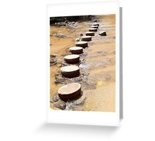 Stepping Stones, Newnes Greeting Card