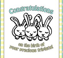 Congratulations on the birth of your triplets! by Micklyn2