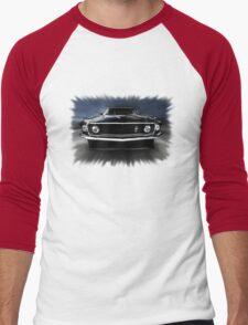 1969 FORD MUSTANG Men's Baseball ¾ T-Shirt