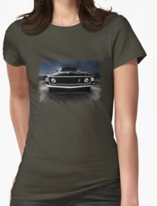 1969 FORD MUSTANG Womens Fitted T-Shirt