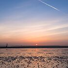Humber Estuary Sunrise by John Dunbar