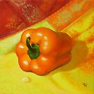 &quot;Orange Pepper&quot; by Tatiana Roulin