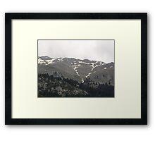 greek mountains  Framed Print