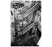 Stairs Down Poster