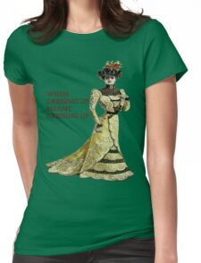 Victorian Woman Womens Fitted T-Shirt