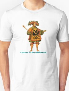 I Dress To Be Different T-Shirt