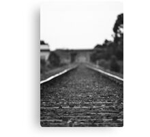 Your Waiting For A Train... Canvas Print