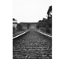 Your Waiting For A Train... Photographic Print