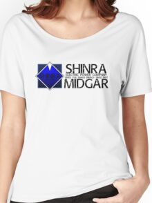 SHINRA ELECTRIC POWER COMPANY MAKO ENERGY MIDGAR Women's Relaxed Fit T-Shirt