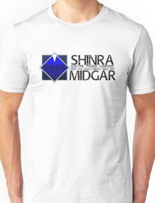 SHINRA ELECTRIC POWER COMPANY MAKO ENERGY MIDGAR Unisex T-Shirt