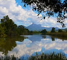 Mount Warning NSW by sarcalder