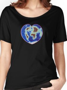 Love Our Earth Women's Relaxed Fit T-Shirt