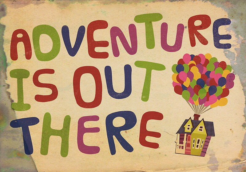 Quot Adventure Is Out There Print Quot Greeting Cards By Drew