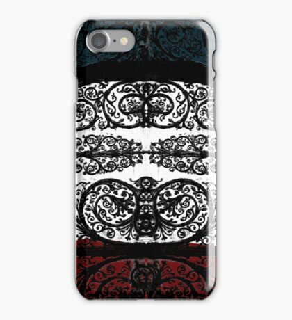 Doors of Notre Dame - French Flag iPhone Case/Skin