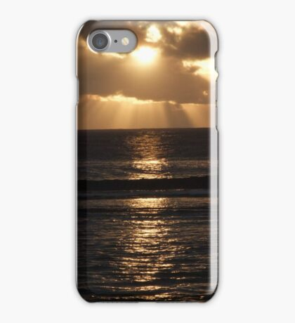 Pacific Island Sunset iPhone Case/Skin